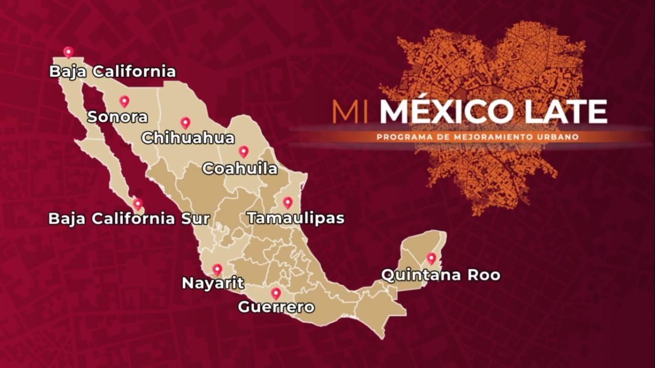 Programa de #MejoramientoUrbano en San Luis Río Colorado