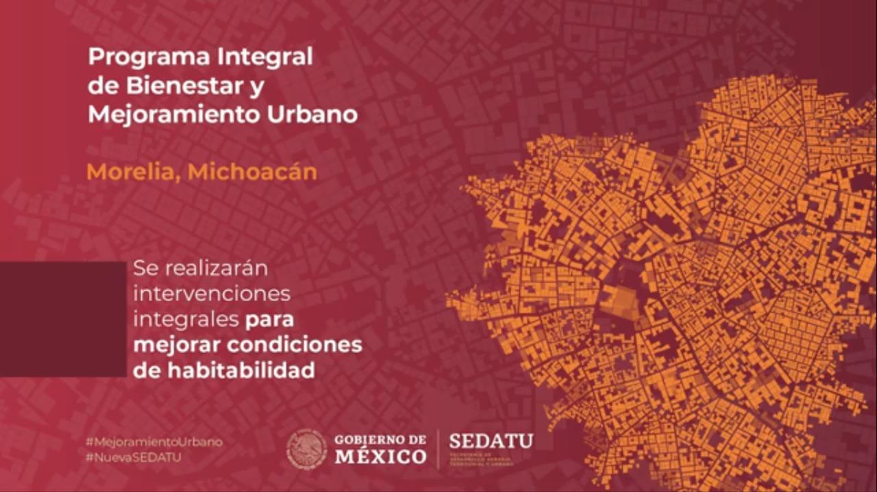 Acciones de Mejoramiento Urbano en Morelia, Michoacán