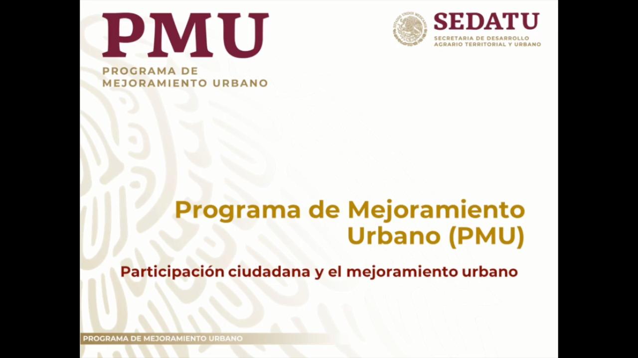 Participación ciudadana y mejoramiento urbano