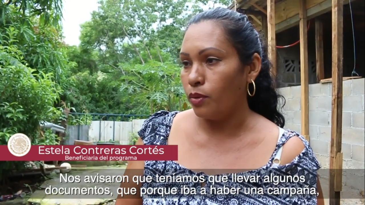 Entrevista a beneficiaria del Programa de Mejoramiento Urbano en Acapulco, Guerrero