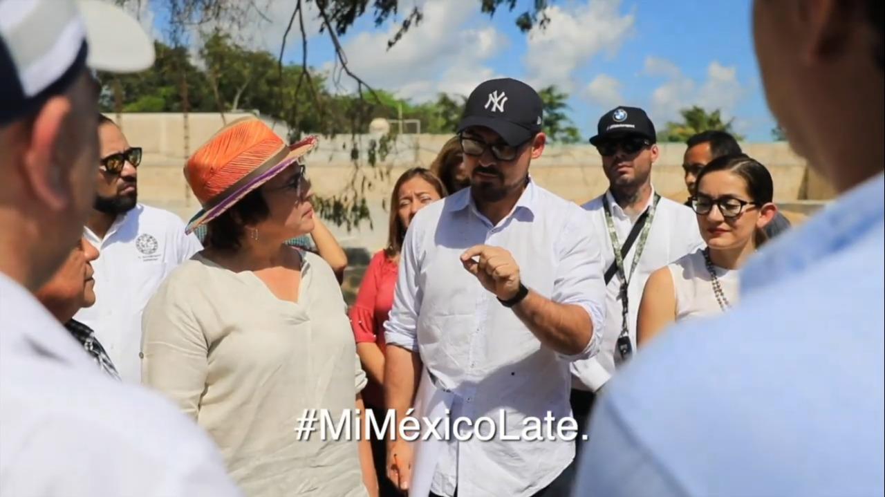 Supervisión de obras del Programa de Mejoramiento Urbano en Solidaridad, Quintana Roo