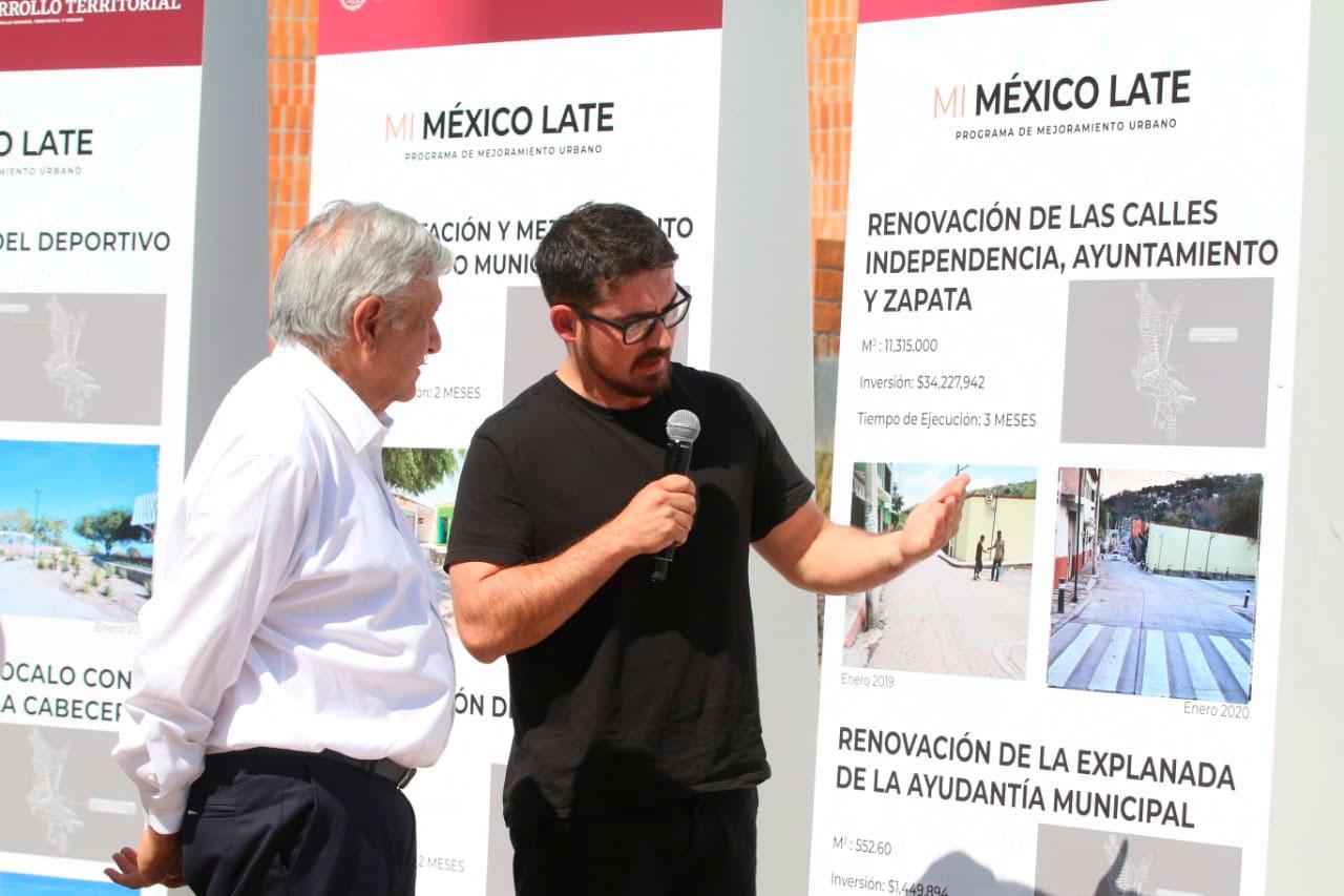 Gobierno de México entrega primeras obras del PMU en Ayala, Morelos