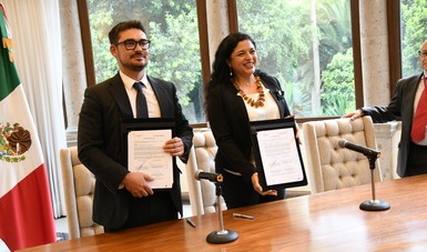 Firman Sedatu y Cultura convenio de colaboración para proteger patrimonio cultural de México
