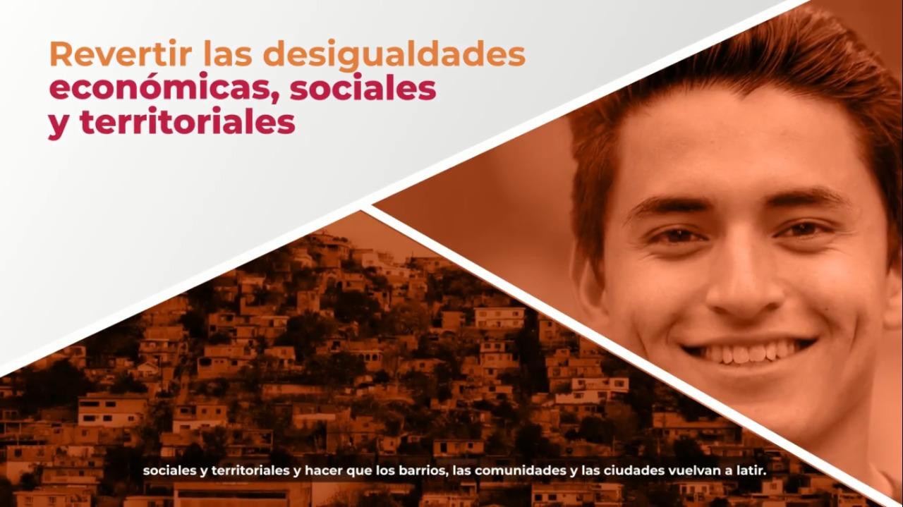 Presentación del Programa de Mejoramiento Urbano #MiMéxicoLate