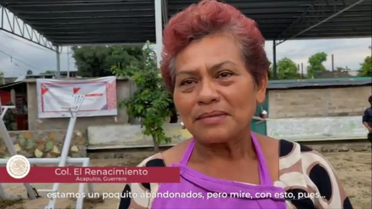 Entrevista Inés Casarrubias, beneficiaria del Programa de Mejoramiento Urbano en Acapulco, Guerrero