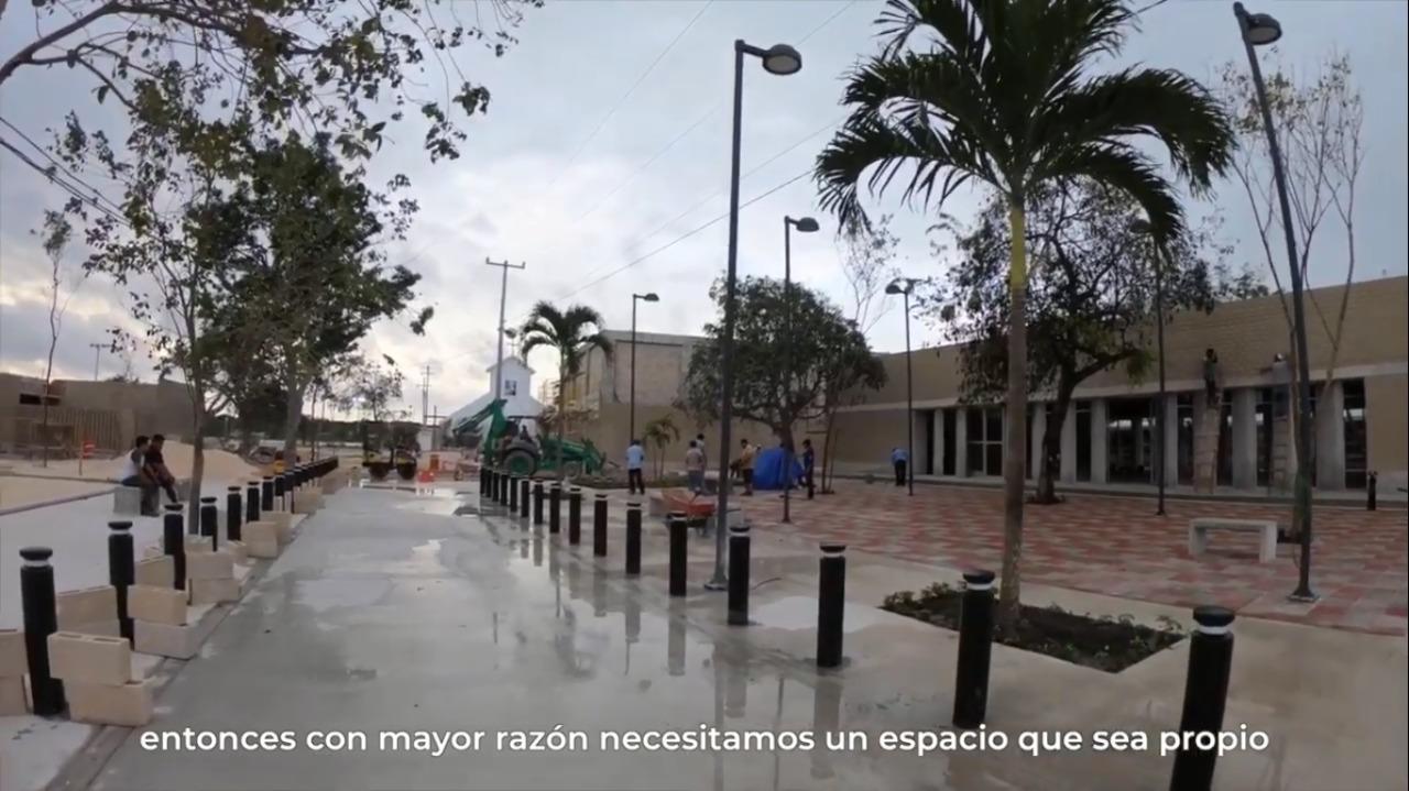 Entrevista con Teresa, beneficiaria del PMU en Solidaridad, Playa del Carmen