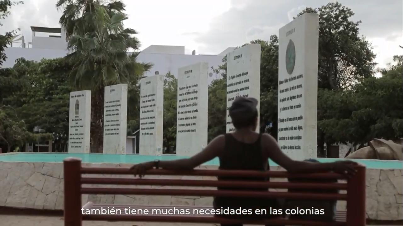 Conoce a Viridiana Méndez, beneficiaria del PMU, en Solidaridad, Playa del Carmen