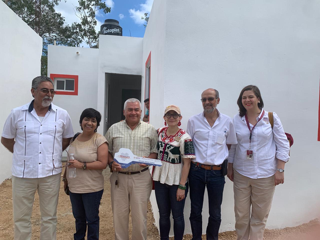 Benefician Sedatu y Conavi a 764 familias de Playa del Carmen con vivienda adecuada