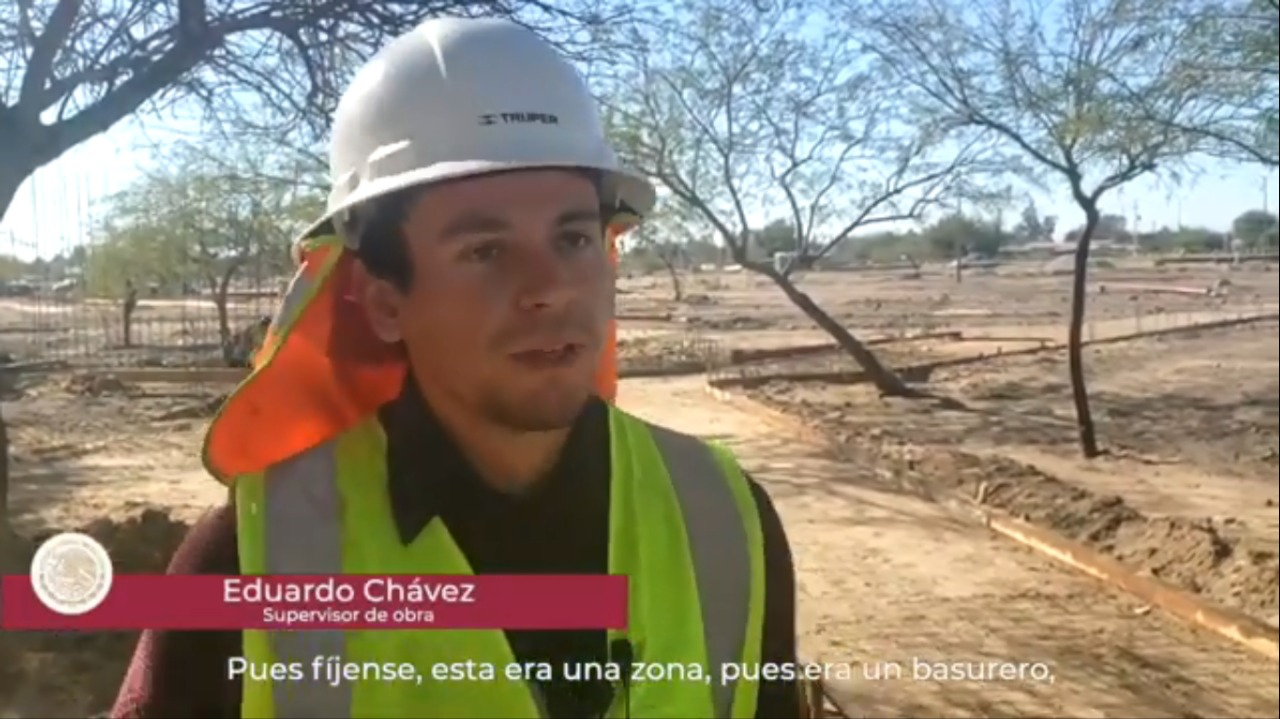 Entrevista Eduardo Chávez, residente de obra en San Luis Río Colorado, Sonora
