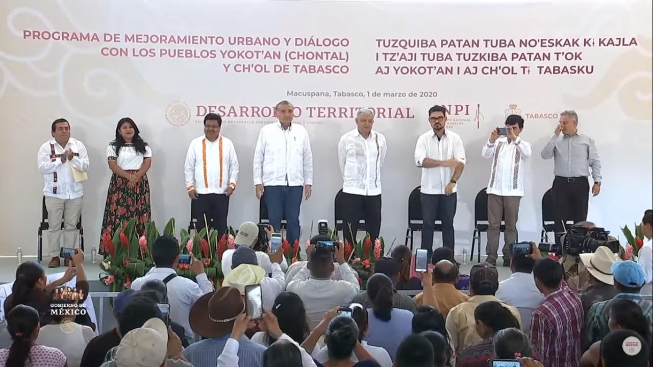Programa de MejoramientoUrbano y diálogo con los pueblos yokot'an (chontal) y ch'ol de Tabasco