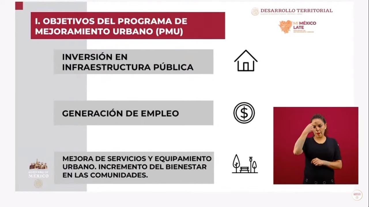 Sedatu se suma a la reactivación económica: anuncia inversión en obra pública para 67 nuevos municipios