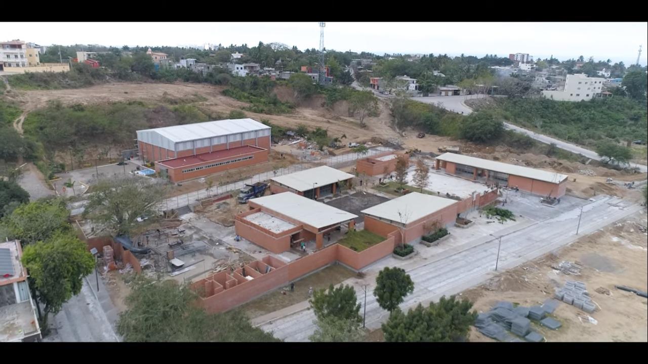 Obras principales del Programa de Mejoramiento Urbano en Bahía de Banderas