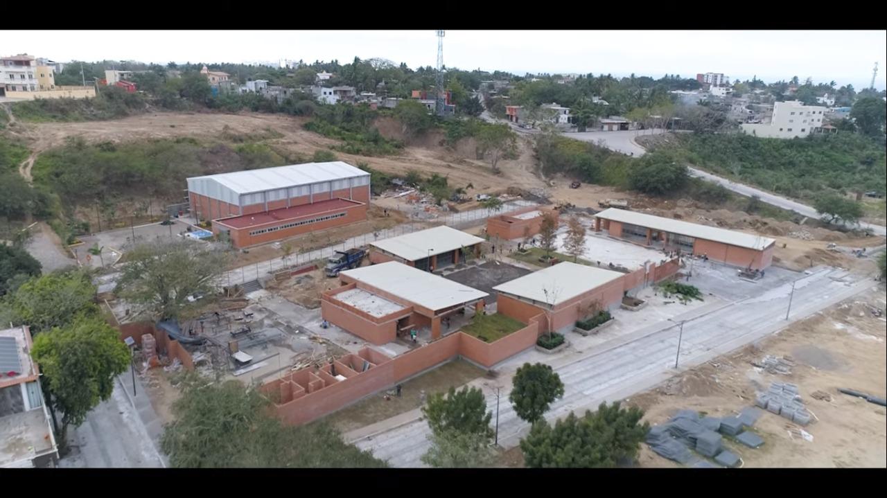 Obras principales del Programa de Mejoramiento Urbano en Bahía de Banderas, Nayarit