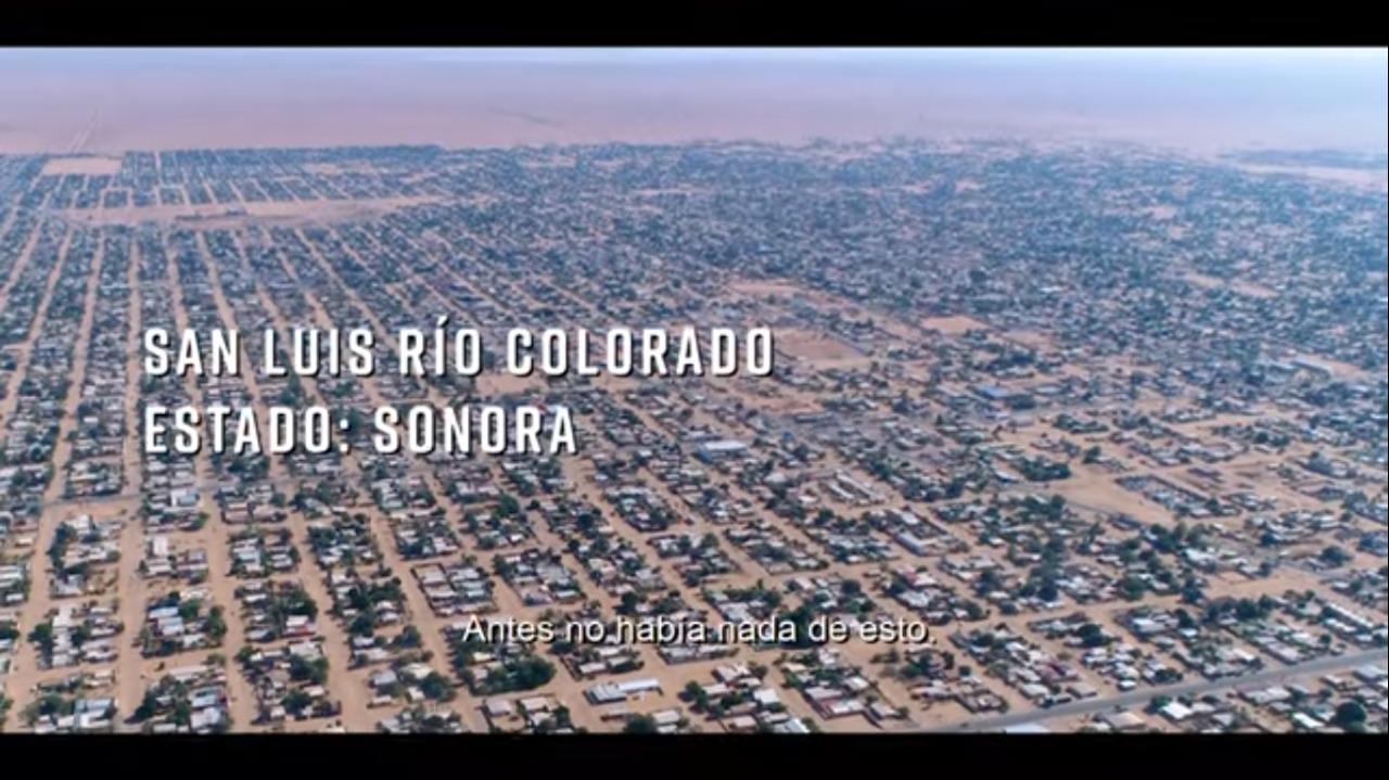 Avances de obras del Programa de Mejoramiento Urbano en San Luis Río Colorado