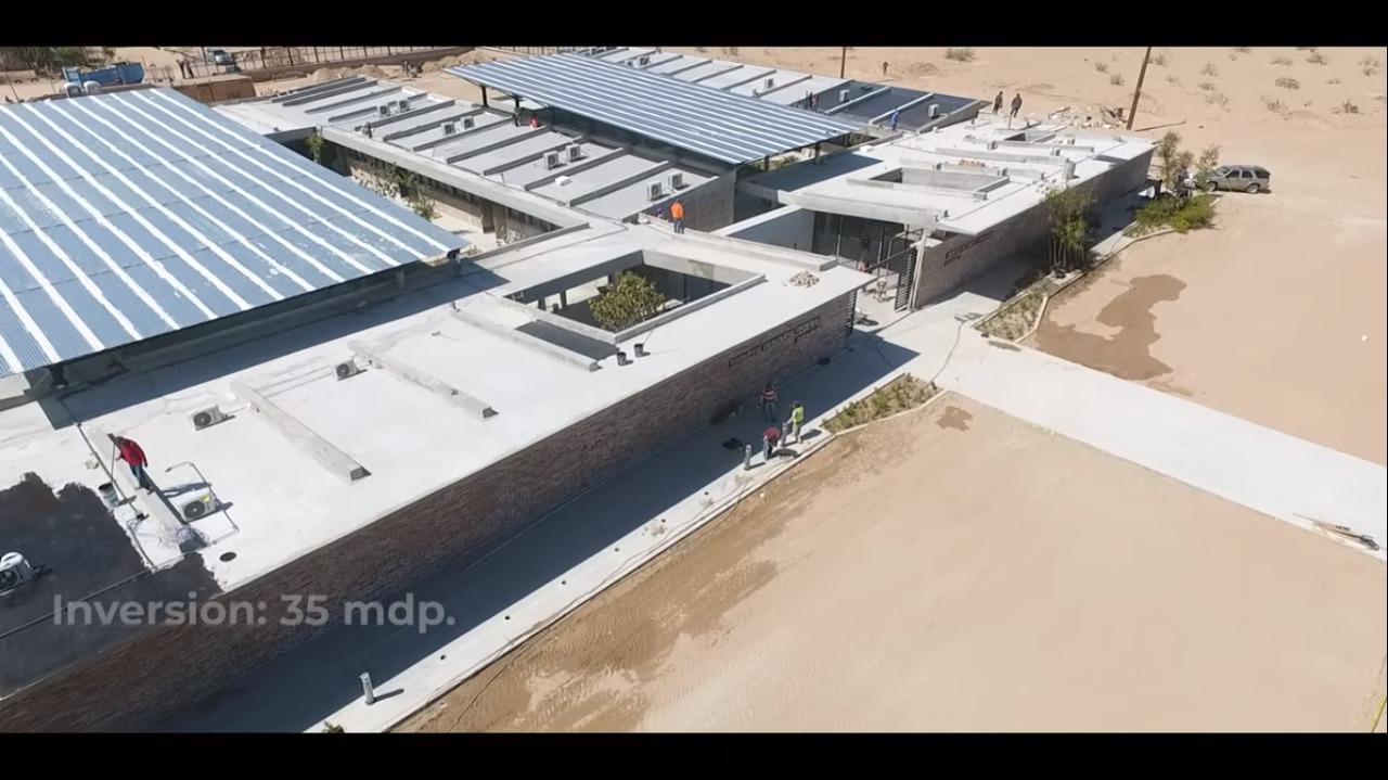 Obras principales del Programa de Mejoramiento Urbano en San Luis Río Colorado
