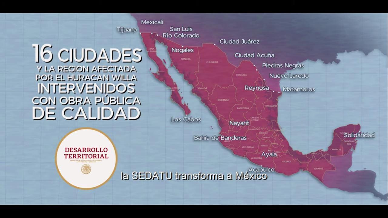 Programa de Mejoramiento Urbano en Piedras Negras, Coahuila