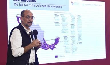 Anuncia Sedatu inversión emergente de más de 6 mil mdp para vivienda popular