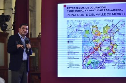Invertirá Sedatu más de 3 mil mdp en desarrollo integral de municipios aledaños a aeropuerto de Santa Lucía