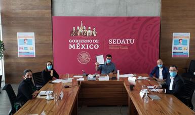 Firman Sedatu y Fonatur convenio de coordinación para planeación territorial del Tren Maya