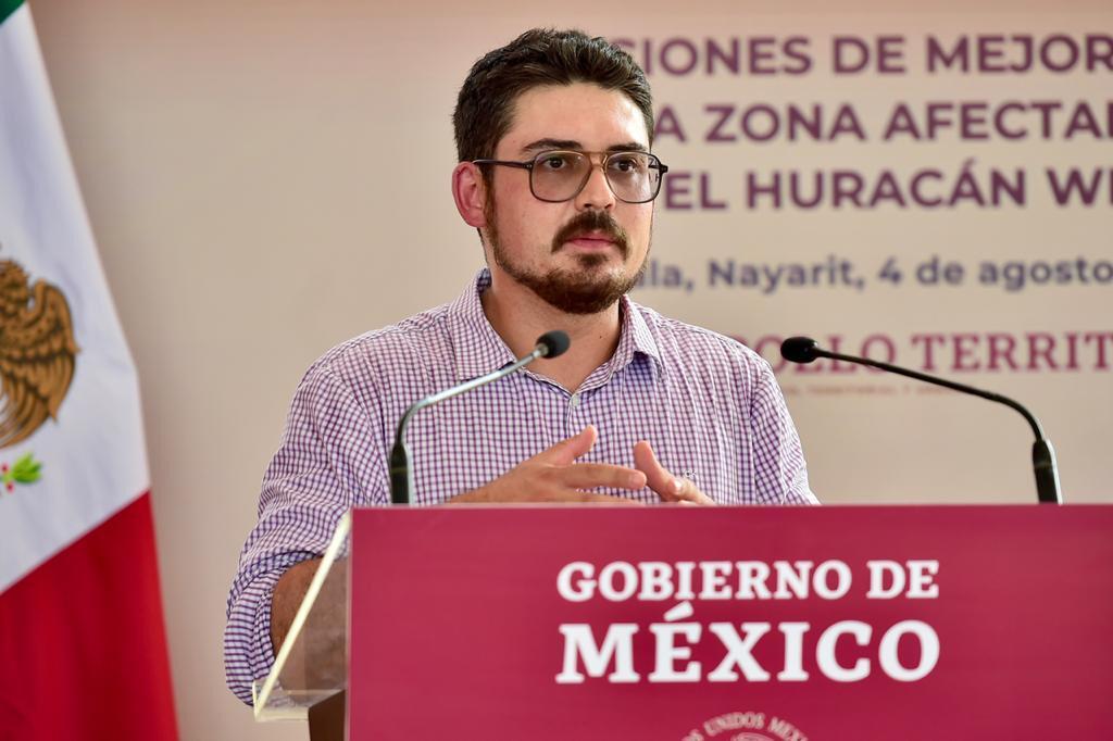 Gobierno de México trabaja desde el territorio para el bienestar de las y los mexicanos: Meyer Falcón