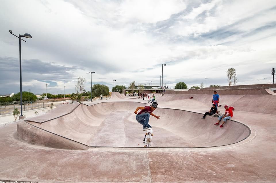 Entrega de skatepark a las y los jóvenes de Ciudad Juárez, Chihuahua