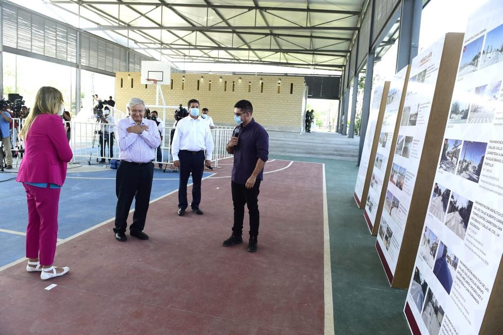 Entrega Sedatu obras de mejoramiento urbano en colonias populares de Reynosa