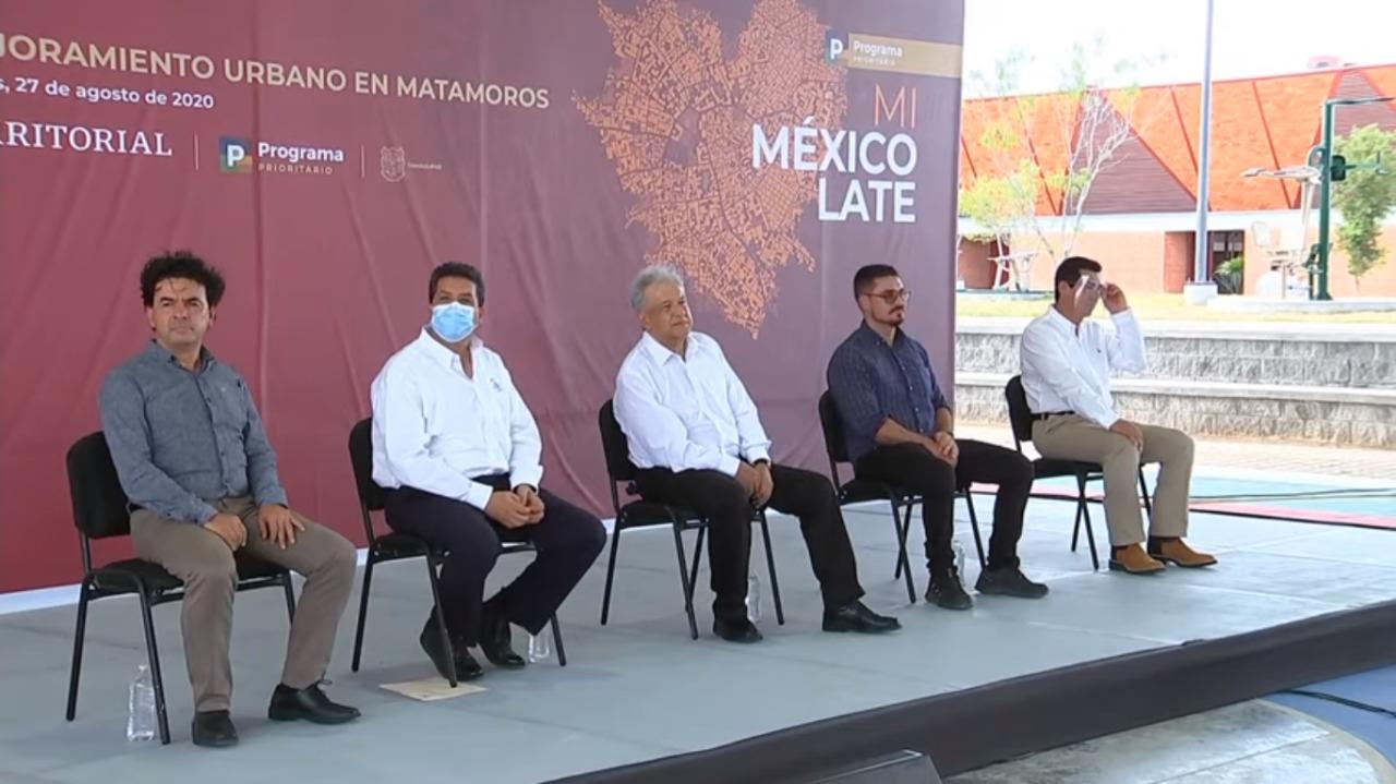 Entrega de obras en Matamoros, Tamaulipas