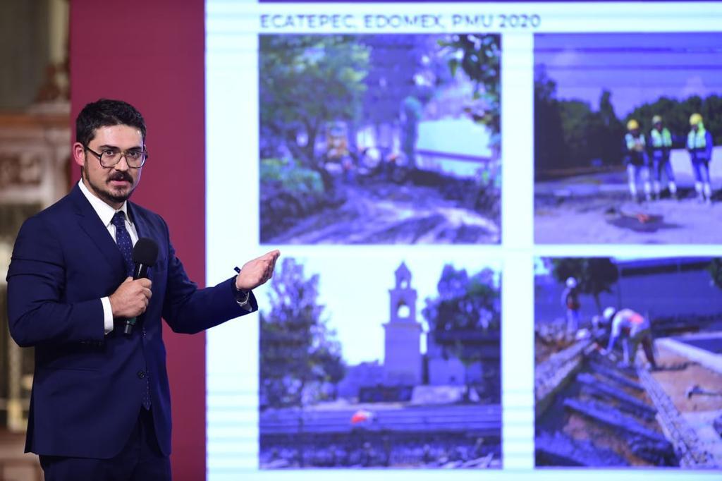 Avances en la generación de empleos a través del Programa de Mejoramiento Urbano