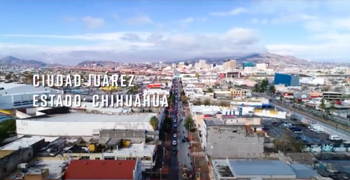 Entrega de obras del Programa de Mejoramiento Urbano en Ciudad Juárez