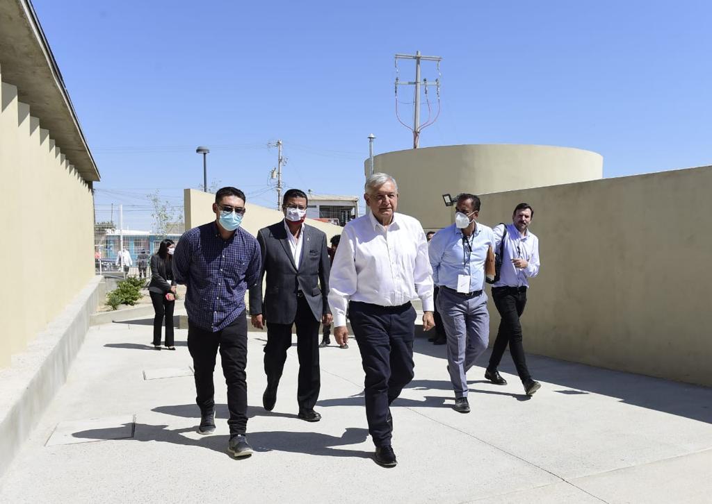 El presidente Andrés Manuel  López Obrador entrega obras en Ciudad Juárez, Chihuahua