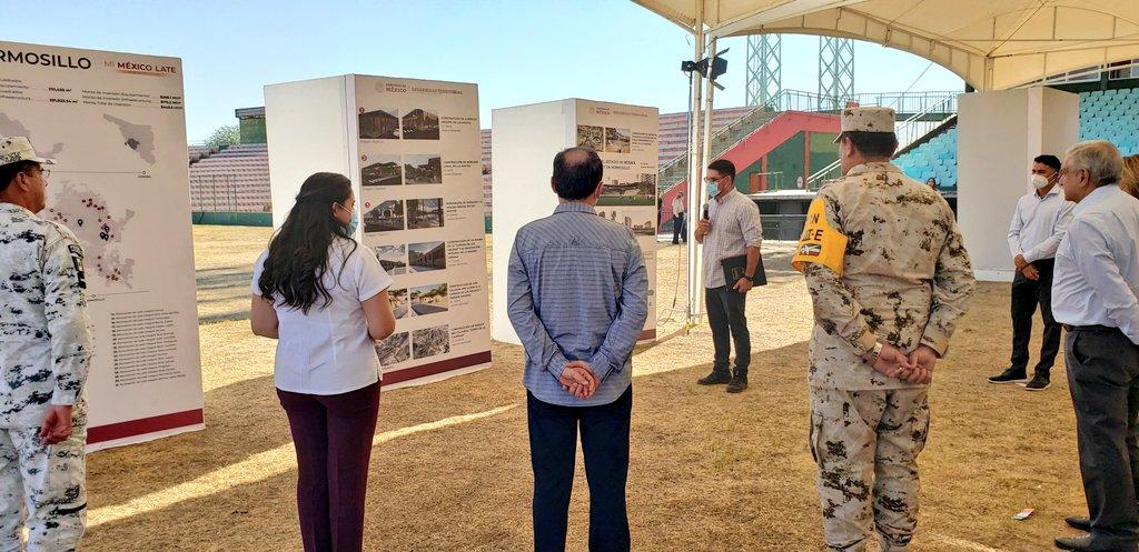 Acciones del Programa de  Mejoramiento Urbano en Hermosillo, Sonora