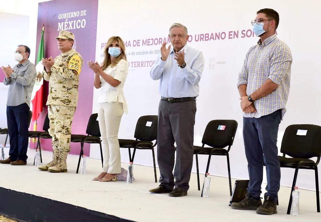 Presentación del Programa de Mejoramiento Urbano en Hermosillo, Sonora