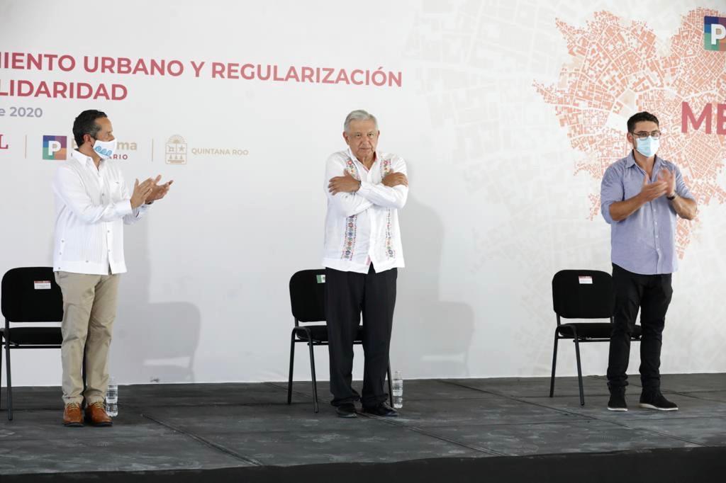 Entrega Sedatu obras en Solidaridad; anuncia estrategia de regularización de vivienda