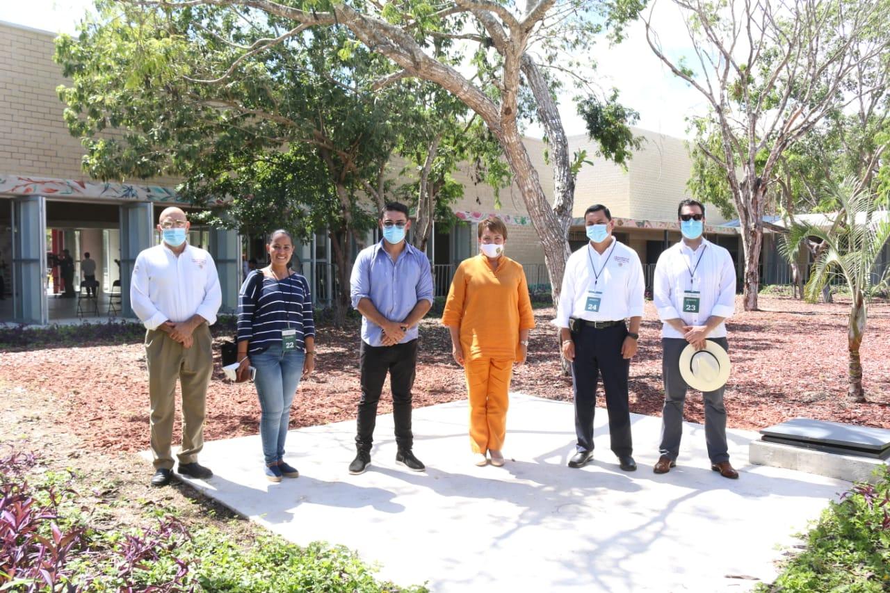 Acciones de Mejoramiento Urbano en Solidaridad, Quintana Roo