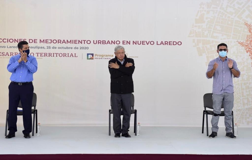 Entrega Sedatu 32 obras de mejoramiento urbano a comunidad de Nuevo Laredo