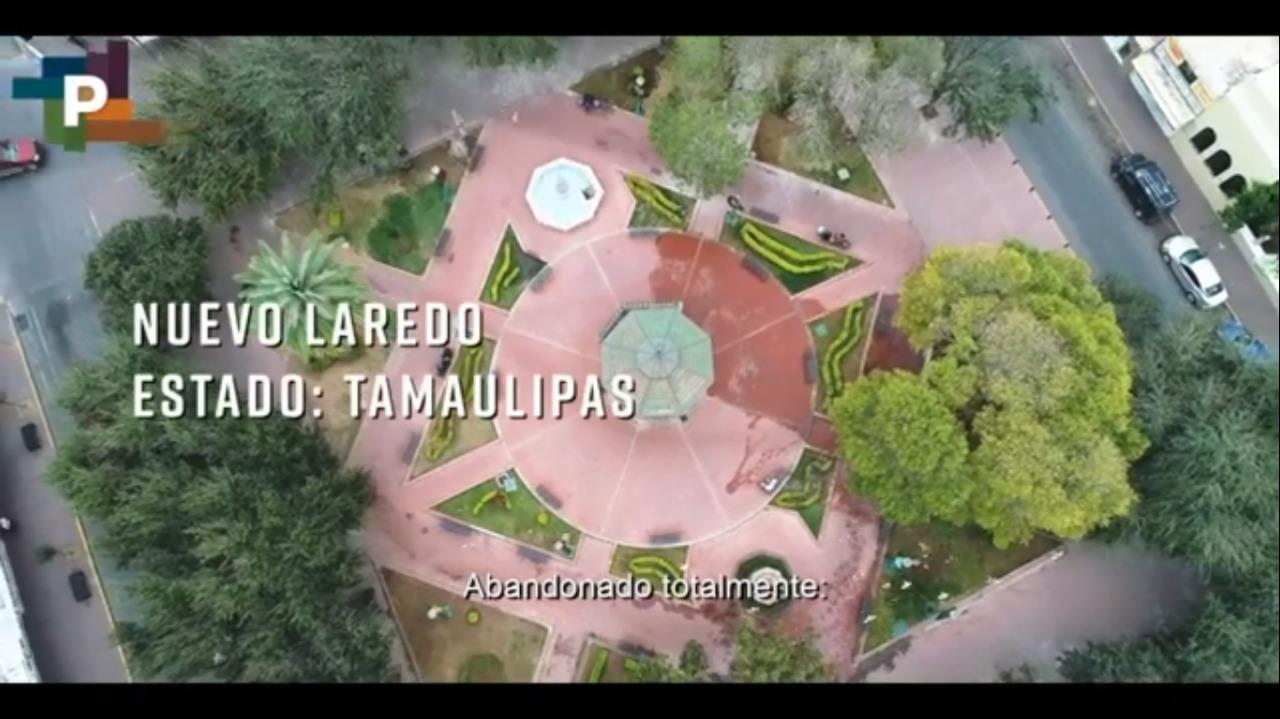 Obras del Programa de Mejoramiento Urbano en  Nuevo Laredo, Tamaulipas