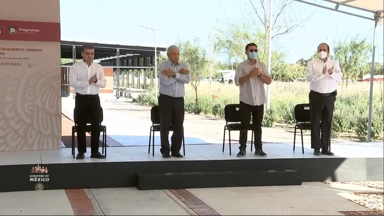 Acciones del Programa de Mejoramiento Urbano en Piedras Negras, Coahuila