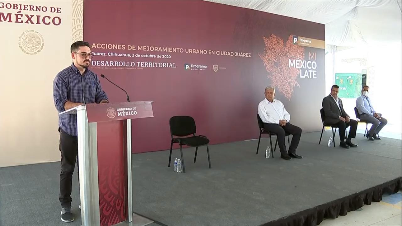Acciones de Mejoramiento Urbano en Ciudad Juárez, Chihuahua
