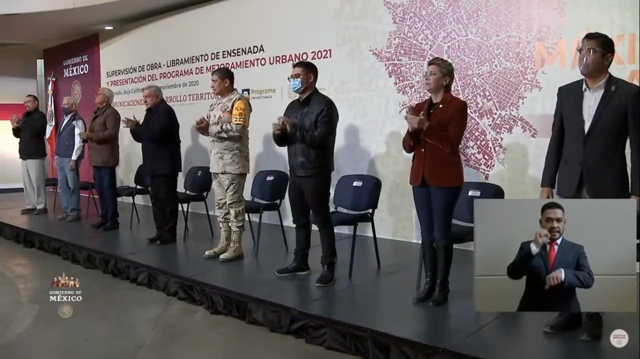 Presentación del Programa de Mejoramiento Urbano 2021 en Ensenada, B.C.