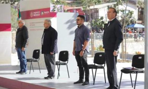 Entrega Sedatu obras de mejoramiento urbano a comunidad y autoridades de Tijuana