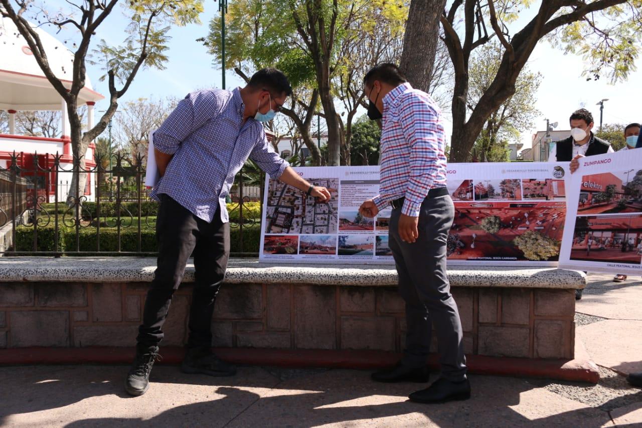 Inicia Sedatu Programa de Mejoramiento Urbano en municipios aledaños a Santa Lucía