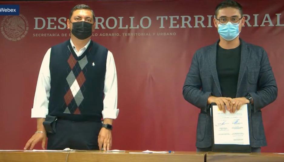 Firman Sedatu y Conagua convenio de colaboración para avanzar en el Plan de Justicia para el Pueblo Yaqui