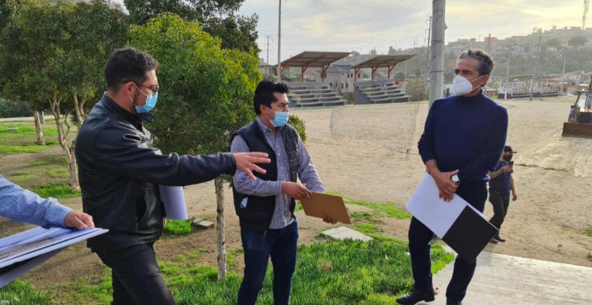 Comienza Sedatu obras de mejoramiento urbano en Ensenada