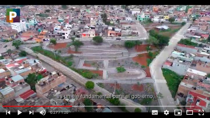 Programa de Mejoramiento Urbano en Morelia (Obras en uso)