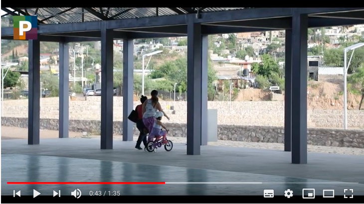 Programa de Mejoramiento Urbano en Nogales, Sonora (Obras en uso)