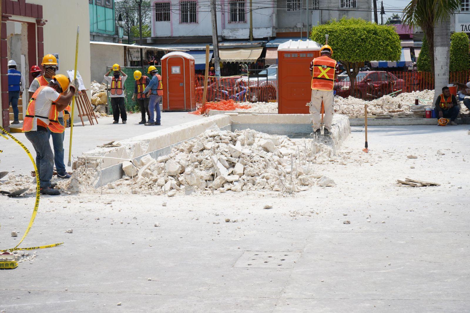 Arranca Sedatu obras en ciudades del Tren Maya en Campeche