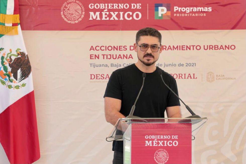 Invierte Sedatu 596 mdp en obras de mejoramiento urbano en Tijuana