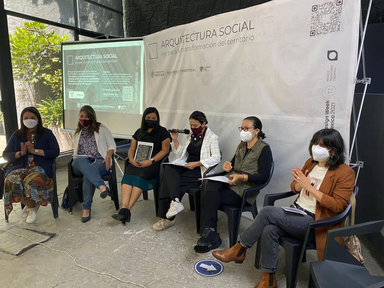 Sedatu presenta guía para activar espacios públicos con perspectiva de género