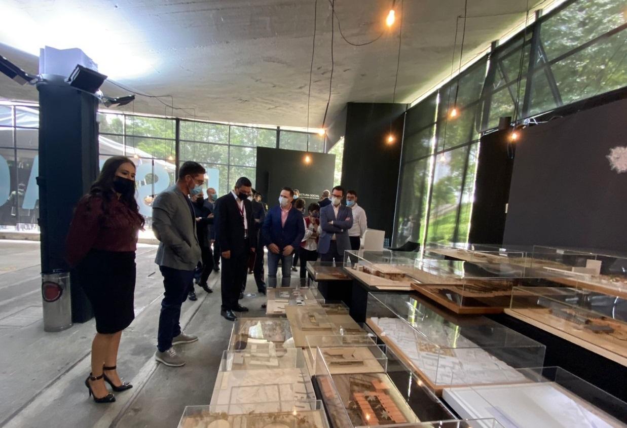 Expone Sedatu proyectos de arquitectura social realizados en más de cien ciudades